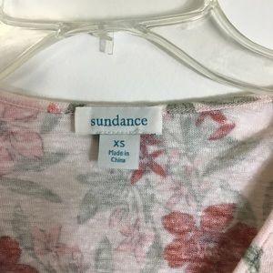 Sundance Tops - Sundance Pink Floral 100% Linen Top Womens XS